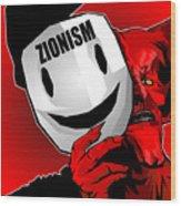 Zionism Devil Wood Print