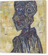 Ziva Kwaunobva Remember Where You Are From Wood Print