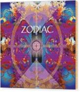 Zodiac 2 Wood Print