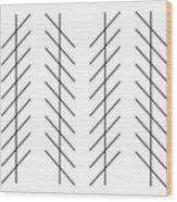 Zoellner Illusion Wood Print