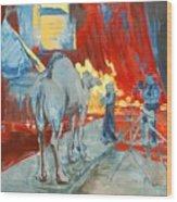 Zohan Camel Wood Print