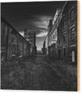 Zombieland The Fort William Starch Company Wood Print