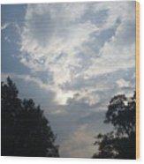 Zooey's Sky Wood Print