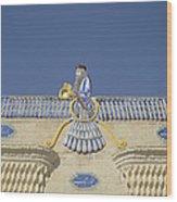 Zorastrian Fire Temple, Iran Wood Print