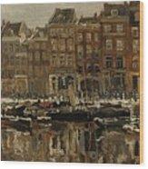 Zuidblaak Te Rotterdam Wood Print