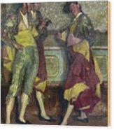 Zuloaga: Bullfighters Wood Print