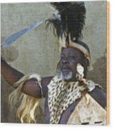 Zulu Pride Wood Print