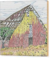 Zuniga Barn Wood Print