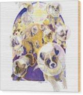 Zvezdy Sobaki Wood Print