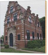 Zwaanendael Museum Wood Print