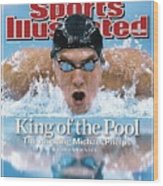 , 2008 Summer Olympics Sports Illustrated Cover Wood Print