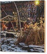 033 - Mears In Winter Wood Print