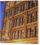 072 - Jax Building Wood Print