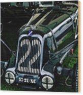 1930's Talbot Lago T23 Race Car Wood Print
