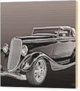 1934 Ford Roadster Wood Print