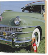 1947 Chrysler Town And Country Woody Wood Print