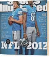 2012 Nfl Football Preview Issue Sports Illustrated Cover Wood Print