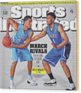 2013-14 College Basketball Preview Issue Sports Illustrated Cover Wood Print