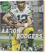 31 Teams, 1 Goal Stop Aaron Rodgers, 2017 Nfl Football Sports Illustrated Cover Wood Print