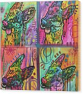 4 Shepherds Wood Print