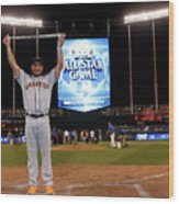 83rd Mlb All-star Game 1 Wood Print