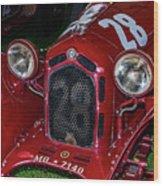 A 1930 Alfa Romeo 6c 1750 Gs  Wood Print