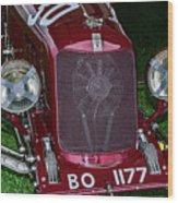 A 1933 Maserati 8c 3000 Biposto Wood Print
