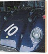 A 1950's Lister Jaguar Race Car Wood Print