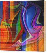 Abstract #35 Wood Print