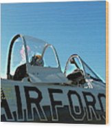 Air Force  Wood Print