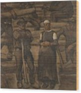 Albin Egger-lienz 1868 - 1926 The Ages Of Life Wood Print