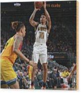Atlanta Hawks V Milwaukee Bucks Wood Print