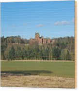 Ayton Castle From South, Berwickshire Wood Print