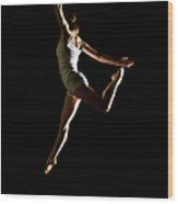 Ballet And Contemporary Dancers Wood Print