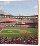 Baseball - Mark Mcgwire Wood Print