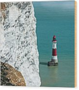 Beachy Head Wood Print