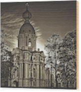 Beautiful Smolny Monastery Wood Print
