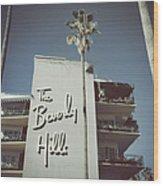 Beverly Hills Hotel Wood Print