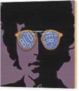 Blowin In The Wind Bob Dylan Wood Print