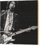 Bob Dylan Live Wood Print