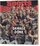 Boston Red Sox, 2018 World Series Champions Sports Illustrated Cover Wood Print