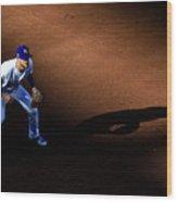Boston Red Sox V Kansas City Royals Wood Print