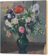 Bouquet Of Flowers, 1898 Wood Print