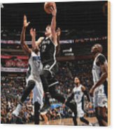 Brooklyn Nets V Orlando Magic Wood Print