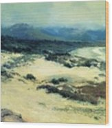 Carmel Shore 1919  Wood Print