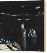 Charlotte Hornets V San Antonio Spurs Wood Print