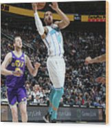 Charlotte Hornets V Utah Jazz Wood Print