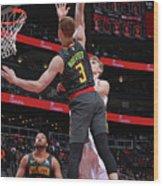 Chicago Bulls V Atlanta Hawks Wood Print