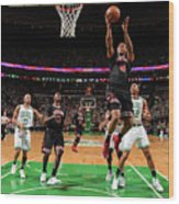 Chicago Bulls V Boston Celtics - Game Wood Print