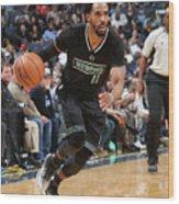 Chicago Bulls V Memphis Grizzlies Wood Print